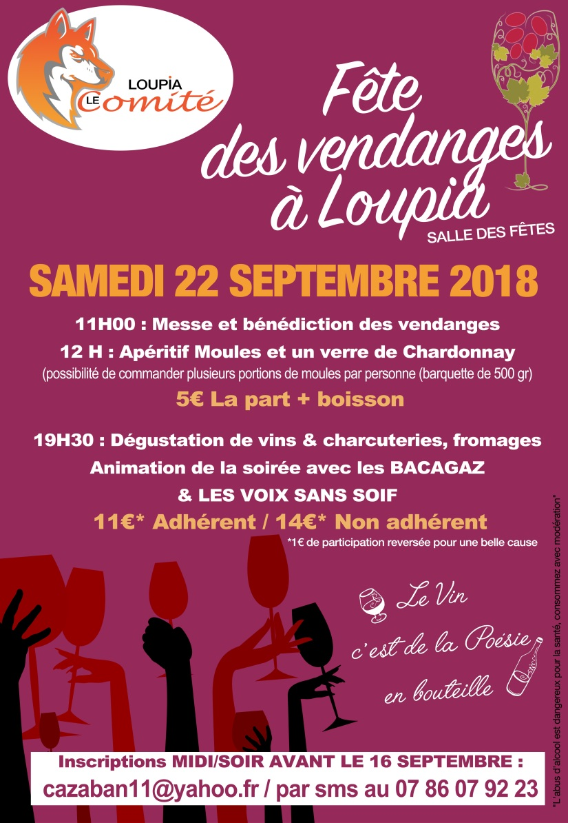 Fete de Vendanges 2018